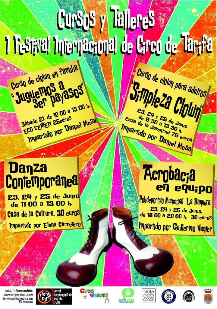 CARTEL TALLERES Y CURSOS FEINCITA 2014 1