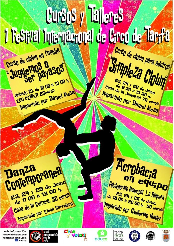 CARTEL TALLERES Y CURSOS FEINCITA 2014 2