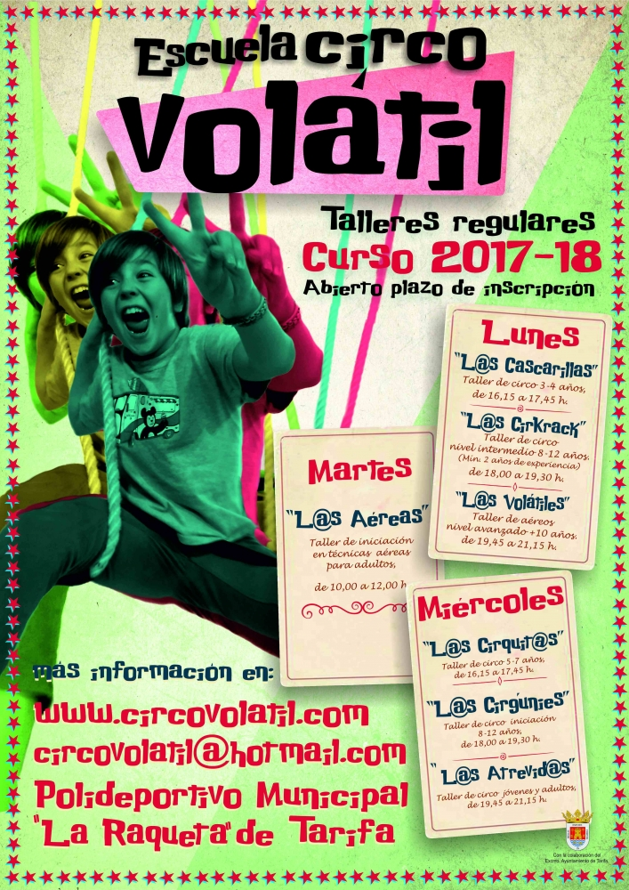 CARTEL corregido ESCUELA VOLATIL 2017 18 vertical B