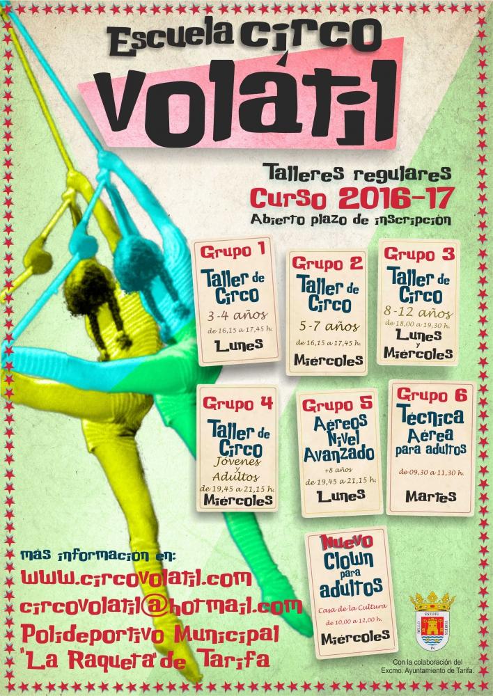 cartel-escuela-circo-volatil-2016-17-noviembre16