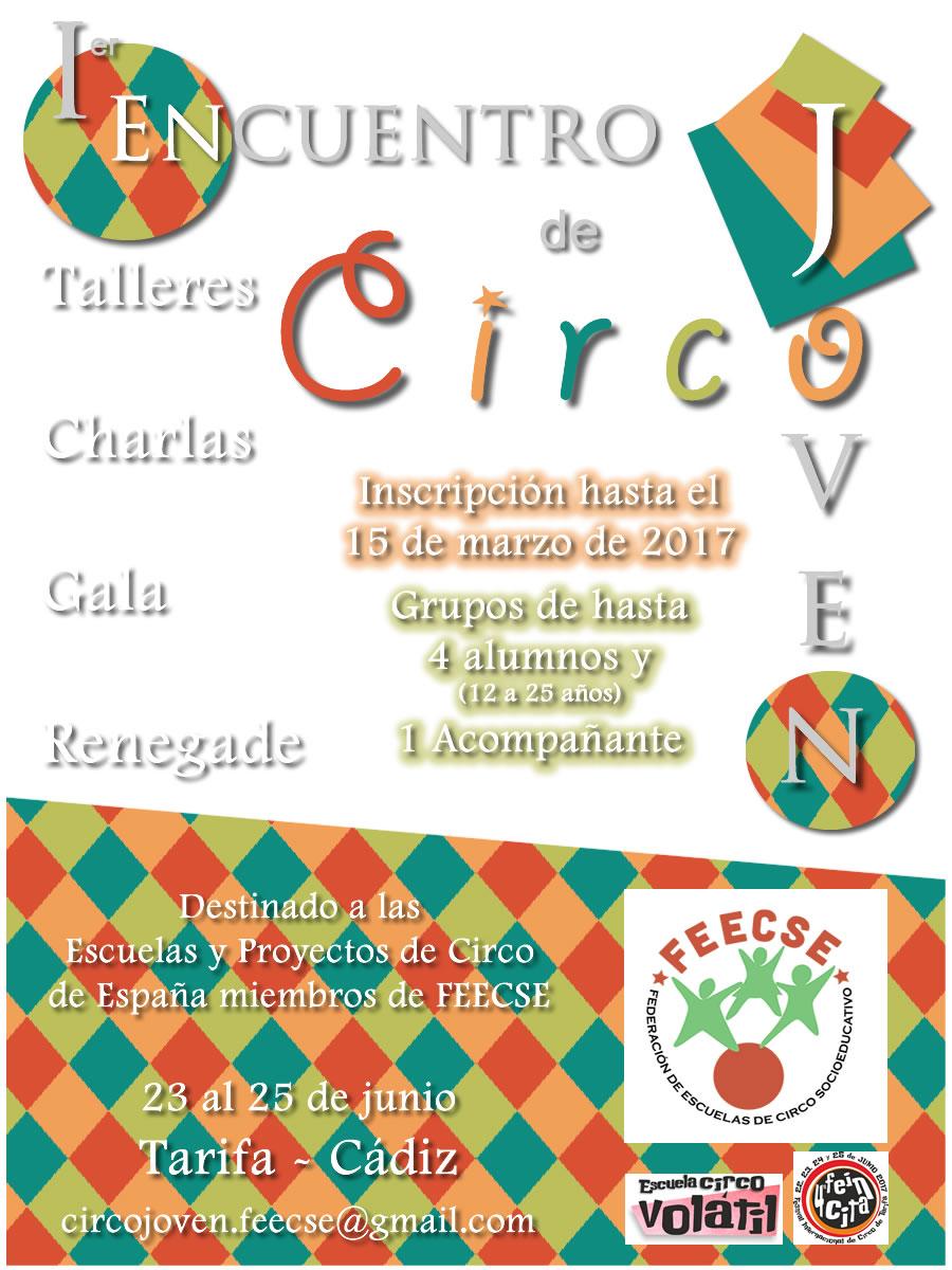cartel circo joven